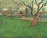 Vincent van Gogh View of Arles with Tress in Blossom painting