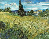 Vincent van Gogh Wheat Field 1889 painting