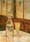 Vincent van Gogh with Absinthe painting