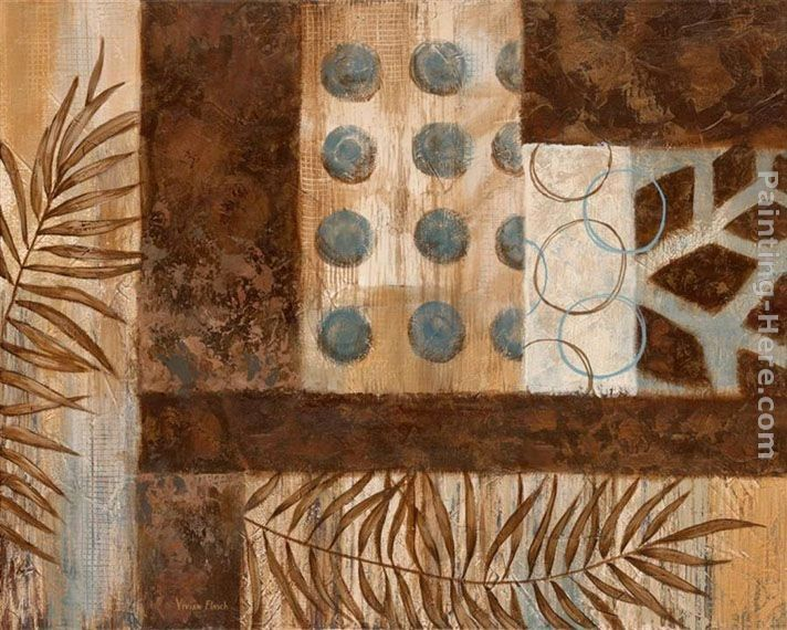Vivian Flasch Abstract Exotic I