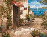 Garden paintings - Caffe di Terrazo by Vivian Flasch