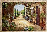 the garden of prayer Paintings - Secret Garden I