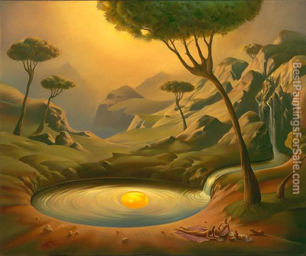 Vladimir Kush Breakfast on the Lake
