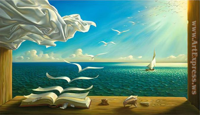 Vladimir Kush diary of discoveries