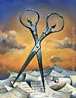 Vladimir Kush Always Together painting