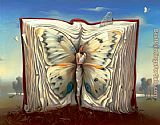 Vladimir Kush book of books painting