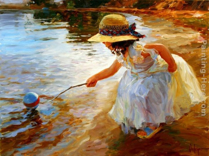 Vladimir Volegov Playing in the Park