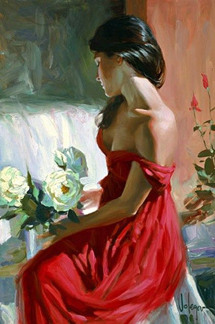 Vladimir Volegov from a rose
