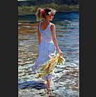 vladimir volegov Paintings - Ebb Tide