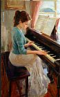 vladimir volegov Paintings - Familiar Melody