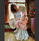 Vladimir Volegov Morning Chat painting