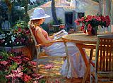 Vladimir Volegov Summers Novel eml painting