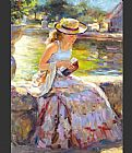 vladimir volegov Paintings - Sunday in the Park