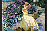 vladimir volegov Paintings - Sunny Day in the Park