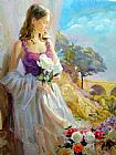 Vladimir Volegov Thoughts of Springtime painting
