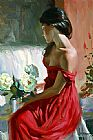 Vladimir Volegov from a rose painting