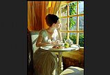 vladimir volegov Paintings - sunny breakfast