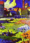 Wassily Kandinsky Munich Schwabing With The Church Of St Ursula painting