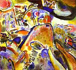 Wassily Kandinsky Small Pleasures painting