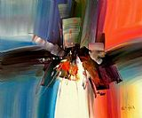 Abstract paintings - wksn15 by Wilkinson