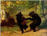 William Beard Dancing Bears painting
