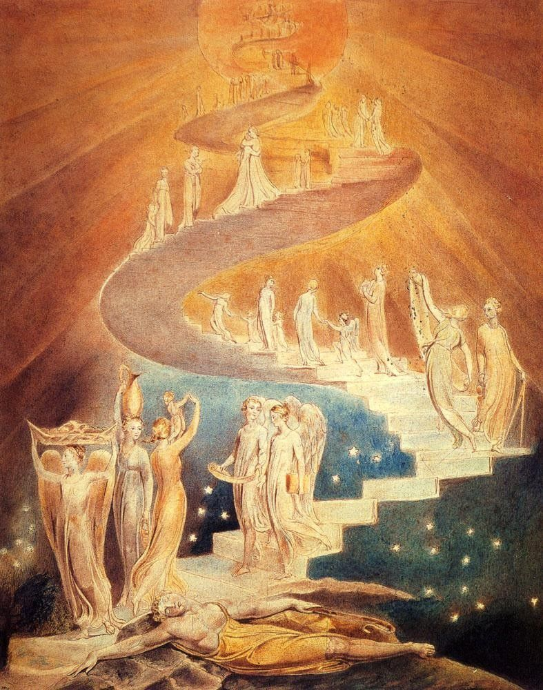 William Blake Jacob's Ladder