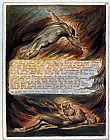 William Blake The Descent of Christ painting