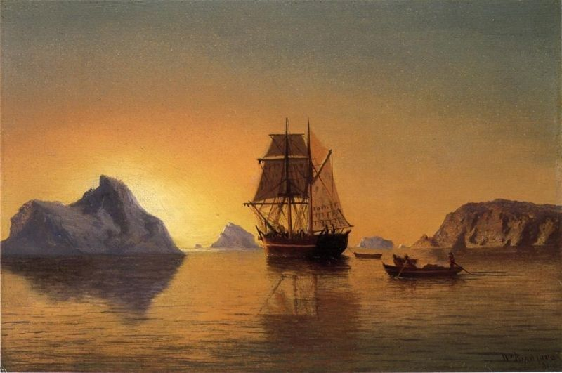 William Bradford An Arctic Scene