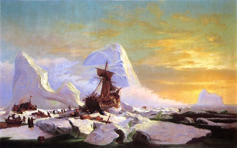 William Bradford Crushed in the Ice