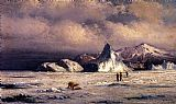 William Bradford Arctic Invaders painting