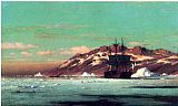 William Bradford Arctic Scene painting