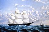 William Bradford Clipper Ship 'Northern Light' of Boston painting