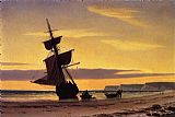 William Bradford Coastal Scene painting