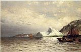 William Bradford Pulling in the Nets painting