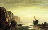 William Bradford The Coast of Labrador painting