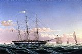 William Bradford Whaleship 'Jireh Swift' of New Bedford painting