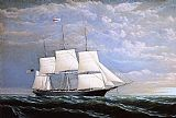William Bradford Whaleship 'Syren Queen' of Fairhaven painting