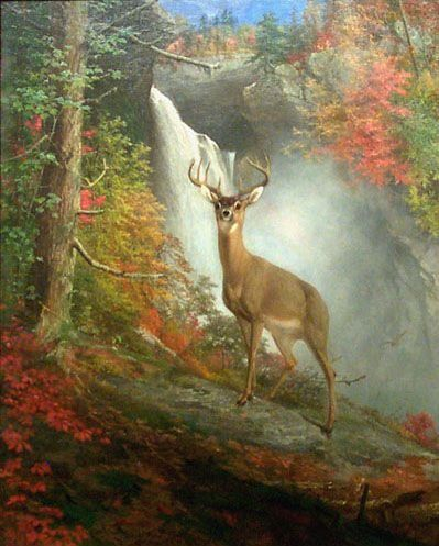 William Holbrook Beard Majestic Stag