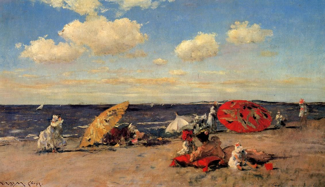 William Merritt Chase At The Seaside