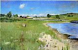 William Merritt Chase Shinnecock Hills from Canoe Place, Long Island painting