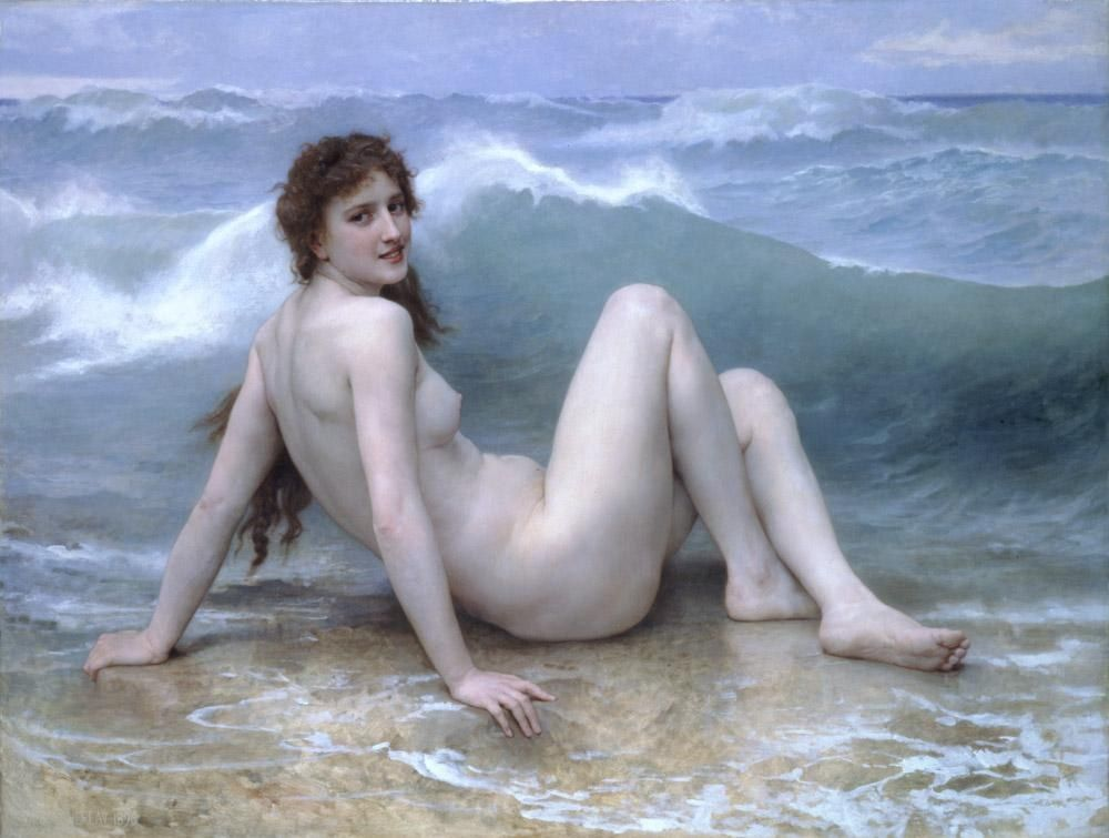 William Bouguereau The Wave