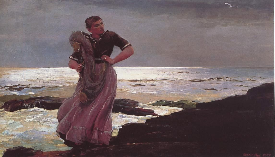 Winslow Homer Light on the Sea