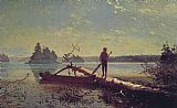 Winslow Homer An Adirondack Lake painting