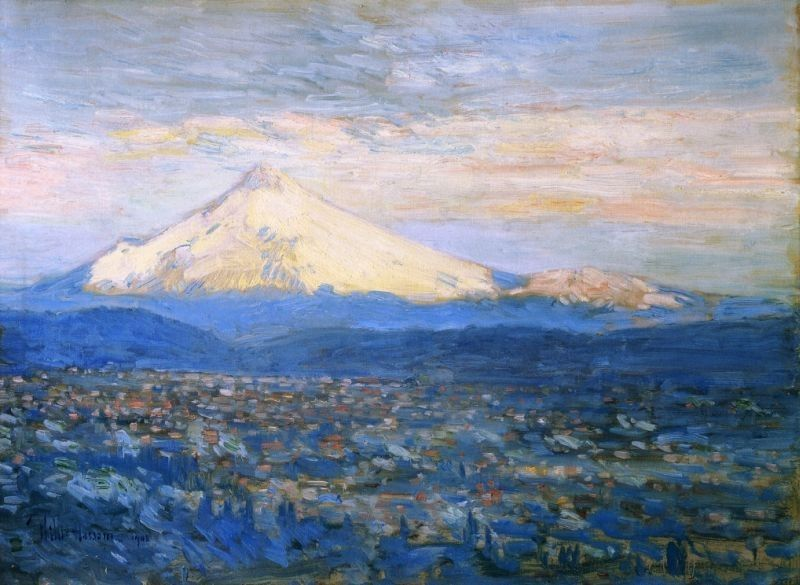 childe hassam Mount Hood