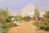childe hassam Horticultural Building painting