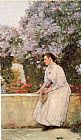 childe hassam In the Garden painting