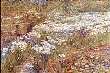 childe hassam The Winter Garden painting