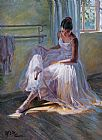 Ballet paintings - gzj08 by Guan zeju