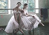 Ballet paintings - gzj11 by Guan zeju