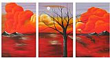 landscape Morning Luster painting